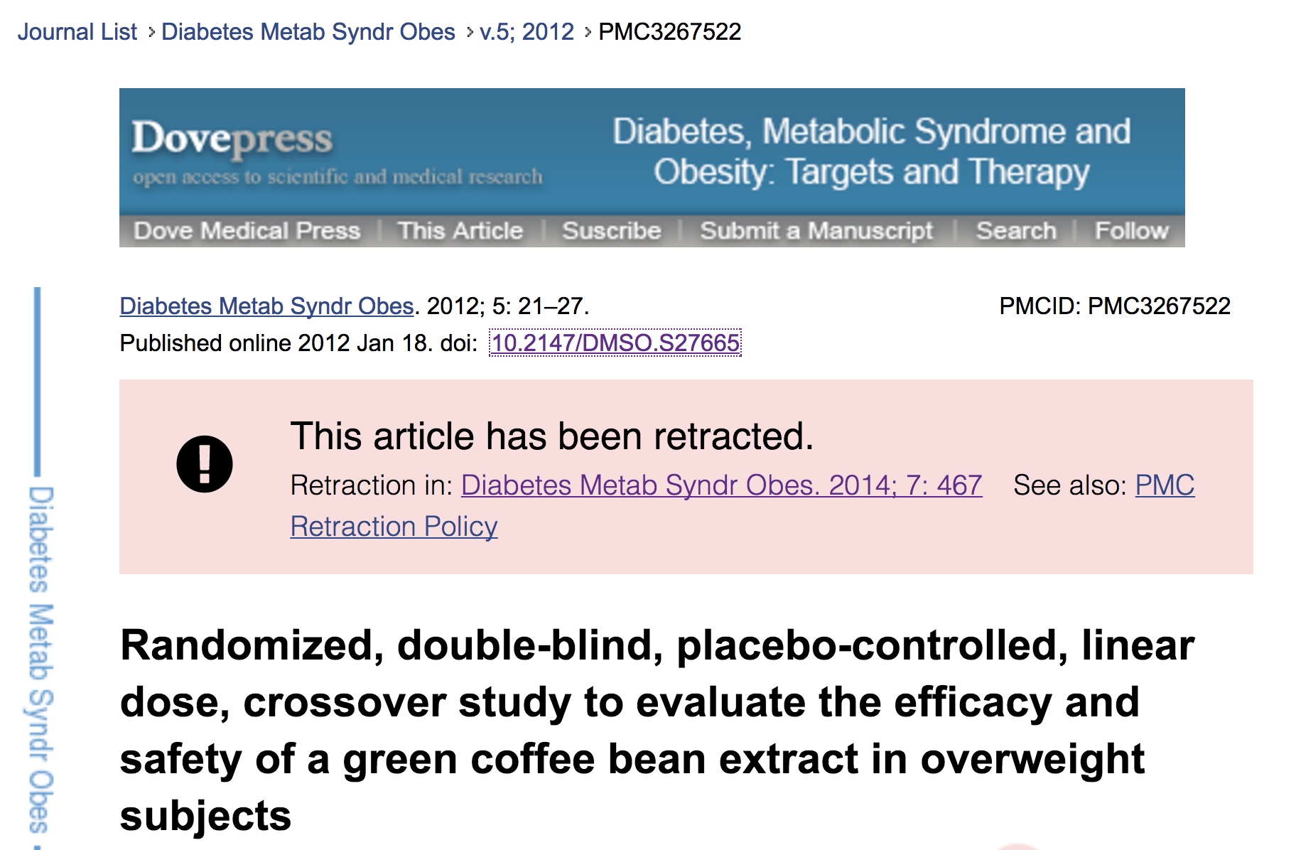 tools how do you know a paper is legit retraction notice on pubmed